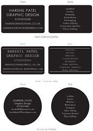 Business Card Ideas Page 3 Harshil Patel