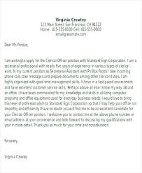 clerical assistant cover letter office clerk cover letter bunch ideas of cover letter clerical