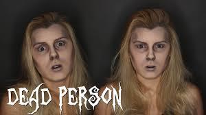 dead person makeup tutorial 2016