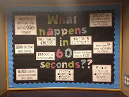 ra bulletin boards what happens in 60 seconds ra bulletin board i did super easy to