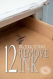 here s a list of 12 s to help remove ink stains from wood furniture