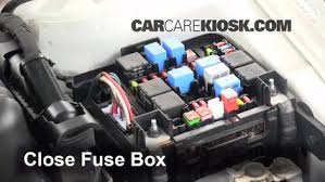 blown fuse check kia forte kia forte ex l  6 replace cover secure the cover and test component