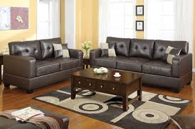 Leather Sofa Makeover Brown Leather Living Room Ideas