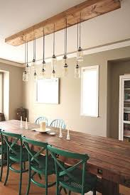 Attractive Dining Room Light Of Diy Fixtures 18693 For Design 13