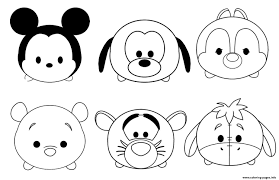 Unfortunately, we can't confirm whether any of them got the name of any of the characters from disney's cartoons. Kawaii Disney Characters Coloring Pages Printable