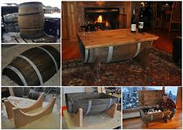 view in gallery diy whiskey barrel table wonderfuldiy1 wonderful diy whiskey barrel coffee table