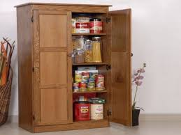 Oak Kitchen Pantry Cabinet Kitchen Wooden Small Kitchen Storage Cabinet Contemporary Design