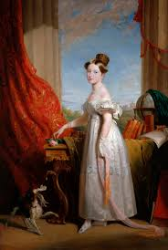 portrait of princess victoria of kent later queen victoria empress of india with