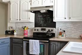 White Cabinets Backsplash Grey Subway Tile Backsplash Kitchens White Cabinets Kitchen In