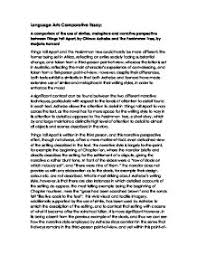 comparative essay things fall apart vs the persimmon tree gcse page 1 zoom in