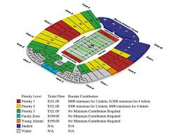 Doak Campbell Seating Chart Rows Doak Campbell Seating Chart Florida State Seminoles