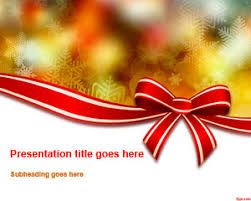 christmas free template christmas powerpoint templates