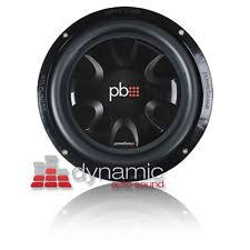 powerbass subwoofers powerbass s 10t shallow mount car audio subwoofer s10t svc 4 ohm 550w sub