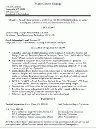 Resume Dental Resume Cover Letter