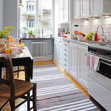 Impressive Modern Kitchen Rugs Inspiring Grey And White Square Polyproplyn In Ideas