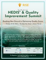 8th Annual Hedis Quality Improvement Summit By