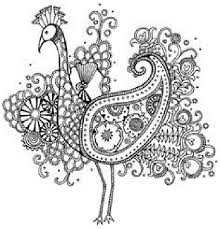 Intricate Animal Coloring Pages Coloring Kids Pinterest