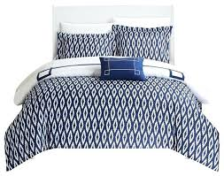 kendall 8 piece duvet set navy king contemporary duvet covers navy stripe duvet cover queen navy