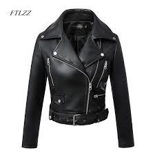 FTLZZ <b>2019 New Fashion</b> Women <b>Autumn</b> Winter Black Faux ...