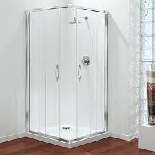 coram premier corner entry shower enclosure various size options