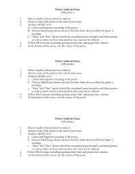 005 Essay Example How To Write Poetry Analysis Poems Poem
