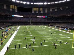 Seating Chart Superdome New Orleans Mercedes Benz Superdome View From Loge Level 245 Vivid Seats