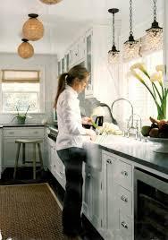 kitchen lighting sink light fixtures square steel coastal metal