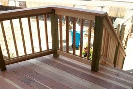 cabin deck railings ideas pictures