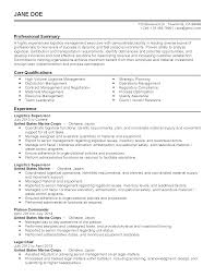 Logistics Readiness Officer Sample Resume Awesome Collection Of Sample Resume Army Logistics Officer On 10