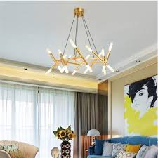Modern Dining Room Pendant Lighting Mesmerizing Dutti D48 Nordic LED Chandelier Living Room Modern European