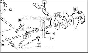 108 clutch question only cub cadets Cub Cadet 128 Wiring Diagram in the above drawing it shows the teaser spring (4) and the spacer(20) but in the service manual it says and shows the spacer are installed in the reverse 1972 Cub Cadet 128