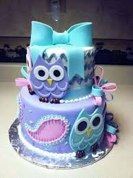 Owl Baby Shower Cakes For A Girl  Baby Shower DIYOwl Baby Shower Cakes For A Girl