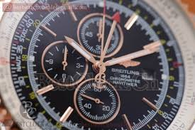 breitling navitimer world quartz black
