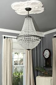 hanging a chandelier in the living room review home lighting diy mason jar light fixture parts kit vanity pottery barn