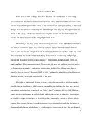 the tell tale heart documents course hero the tell tale heart 2 essay 2