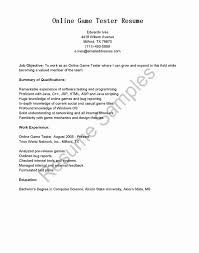 Qa Release Note Tester Sample Resume Example Sample Human Rights