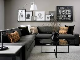 black furniture wall color. Black Furniture Living Room Ideas Gray Color Combinations And Pictures Wall