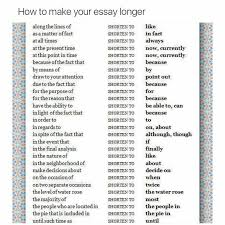 best marvelous synonym ideas better synonym  phrases for essay writing life hacks how to make your essay longer longer phrases for