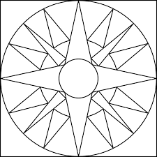 Small Picture Pattern Coloring Pages For Symmetrical diaetme