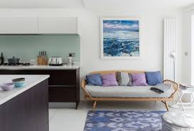 london blue ombre rug with traditional toasters living room contemporary and ercol daybed purple