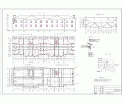 Курсовая работа Архитектура жилых зданий