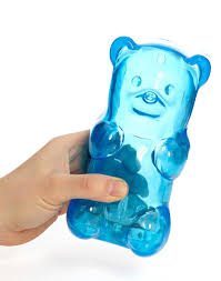 Light Gummy Bears Squeezable Blue Gummy Bear Night Light For My Son Blue