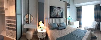 modern yatak odası şık özel tasarım soyunma odası ferah rahat