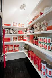 Walk In Kitchen Pantry Kitchen With Modern Walk In Pantry With Open Shelves In White