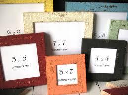 4 x picture frame square 12 colors mini beachy instagram photo