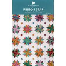 Star Pattern Quilt Mesmerizing Ribbon Star Pattern By Missouri Star Missouri Star Quilt Co