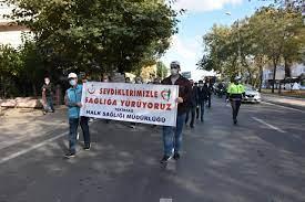 Çorlu'da Dünya Yürüyüş Günü etkinliği düzenlendi - Haberso