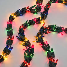 Mini Light Garland Garland String Lights Multi Color Lights Green Wire 18 Ft