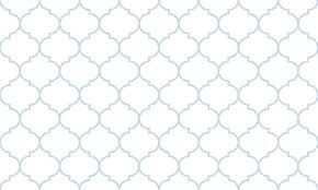 Morrocan Pattern Fascinating Seamless Subtle Blue And White Wide Moroccan Pattern Vector Wall