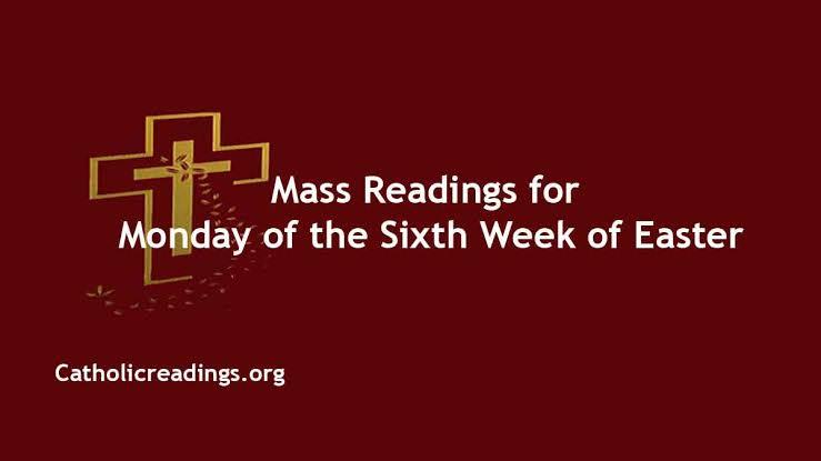 Catholic 10 May 2021 Monday Online Daily Mass Reading